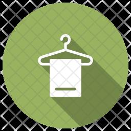 Hanger Glyph Icon