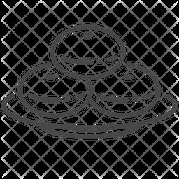 Hanukkah Line Icon