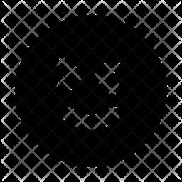 Happy Glyph  Emoji Icon