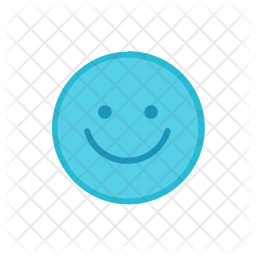 Happy Colored Outline Icon