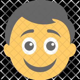 Happy Flat Icon