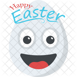Happy Easter Emoji Icon