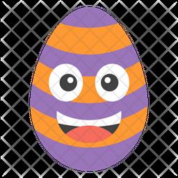 Happy Egg Emoji Icon