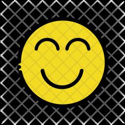 Happy emoji Emoji Icon