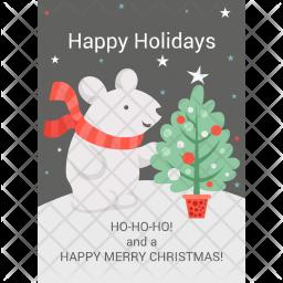 Happy Holidays Icon