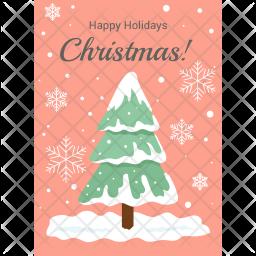 Christmas Holidays Icon.Happy Holidays Icon