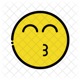 Happy Kiss emoji Emoji Icon