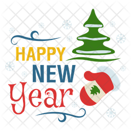 Happy New Year Logo Png 89