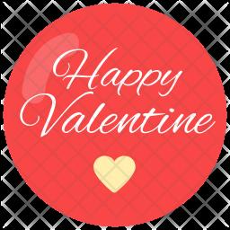 Happy valentine Icon