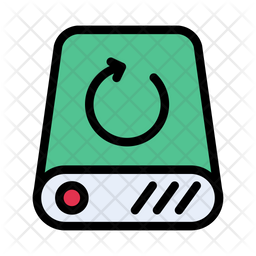 Hard Drive Backup Icon Of Colored Outline Style Available In Svg Png Eps Ai Icon Fonts