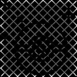 Harmoine Line Icon