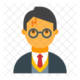 Harry Potter Icon Of Flat Style Available In Svg Png Eps Ai Icon Fonts