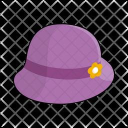 Velvet hat Icon