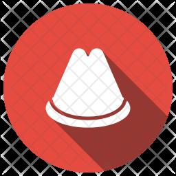 Hat Glyph Icon