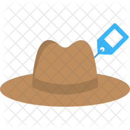 Hat Price Tag Icon