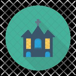 Haunted Building Icon