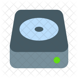 Hdd Icon Of Flat Style Available In Svg Png Eps Ai Icon Fonts