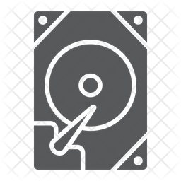 Hdd Icon Of Glyph Style Available In Svg Png Eps Ai Icon Fonts