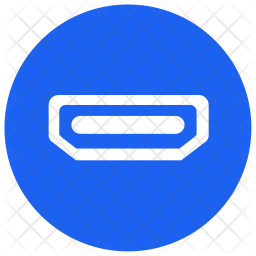 hdmi icon of glyph style available in svg png eps ai icon fonts hdmi icon