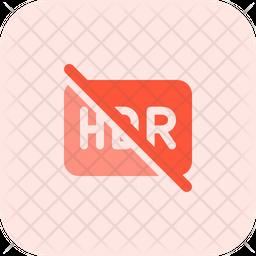Hdr Cross Flat Icon