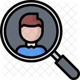 Head Hunter Icon Of Colored Outline Style Available In Svg Png Eps Ai Icon Fonts