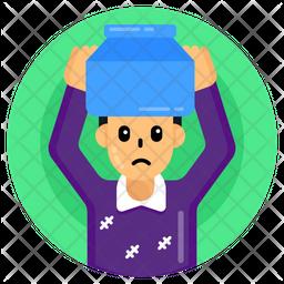 Head Pot Icon
