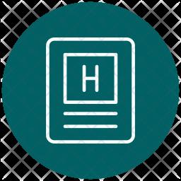 Headings, Temperature, Heat, Seo-hot Icon