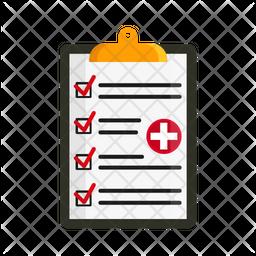 Health Report Icon