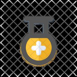 Health tube icon Icon