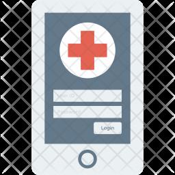 Healthapp Flat Icon