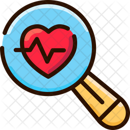 Healthcare System Analysis Colored Outline Icon