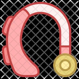 Hearing aid Icon
