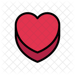 Heart Icon Of Colored Outline Style Available In Svg Png Eps Ai Icon Fonts