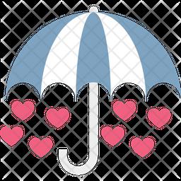 Heart drops Icon