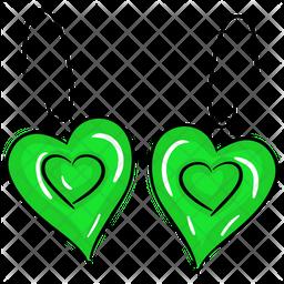 Heart Earrings Icon