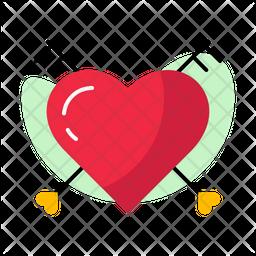 Heart Key Icon