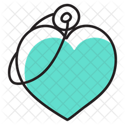 Heart Keychain Icon