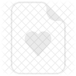 Heart, Love, Like, Favorite, Document, File Icon png