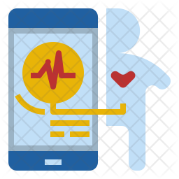 Heart rate measurement Icon