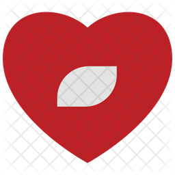 Heart record button Icon