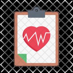 Heart Report Icon