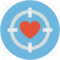 Heart target Icon