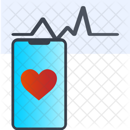 Heartbeat Measuring App Icon