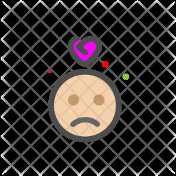 Heartbroken Icon