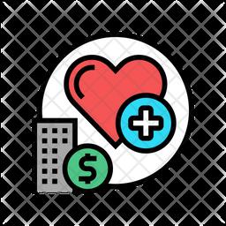 Heartcare Hospital Icon