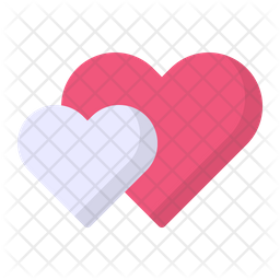 Hearts Flat Icon