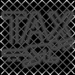Heavy Payable Tax Icon