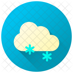 Heavy Snowfall Icon