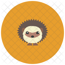 Hedgehog Icon Of Flat Style Available In Svg Png Eps Ai Icon Fonts