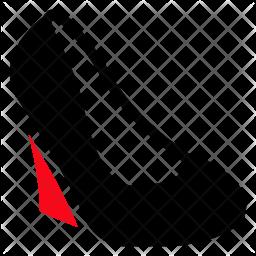 Heel Glyph Icon